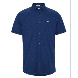 Abstract pattern short sleeve shirt by Tommy Jeans