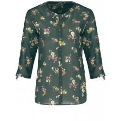Organic cotton floral blouse by Gerry Weber Casual