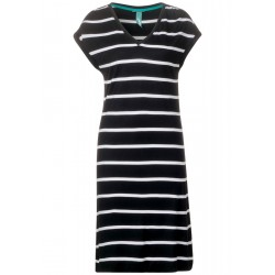 T-shirt dress with stripes by Street One