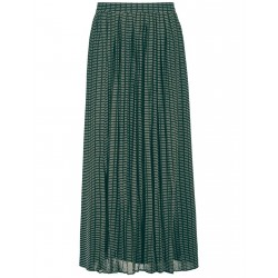 Pleated skirt with a graphic pattern by Gerry Weber Collection