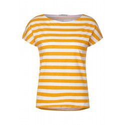 T-shirt with stripe pattern by Cecil
