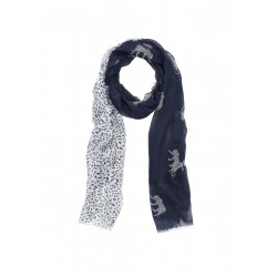 Scarf with Animal Print by s.Oliver Red Label