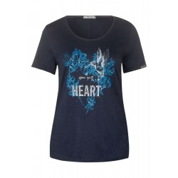 T-shirt with print by Cecil