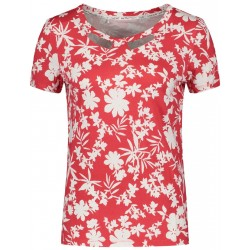 T-shirt with floral print by Taifun