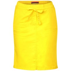 Short fabric skirt in plain colour by Cecil