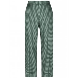 Trousers with a geometric pattern by Gerry Weber Collection