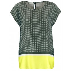 Blouse top with a mixed pattern by Gerry Weber Collection
