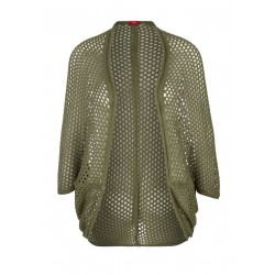 Openwork knit poncho by s.Oliver Red Label