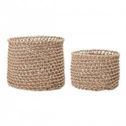Basket set by Bloomingville