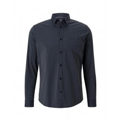 Slim Fit: chemise à manches longues by Tom Tailor