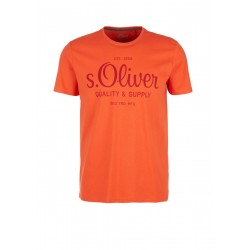 T-shirt with logo print by s.Oliver Red Label