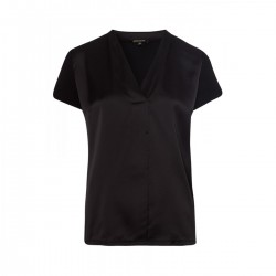 Shirt avec devant en satin by More & More