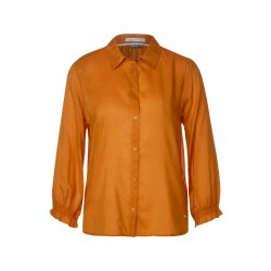 Shirt blouse with smock detail by Street One