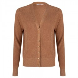 Cardigan with metallic look by Esqualo