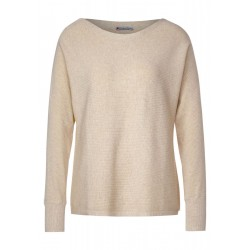 Ribbed sweater with dolman sleeves by Street One