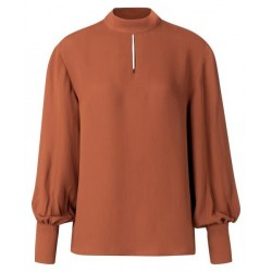 Blouse with puff sleeves by Yaya