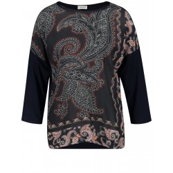Shirt with printed front by Gerry Weber Collection