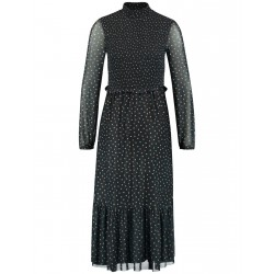 Maxi dress with dot pattern by Taifun