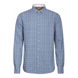Modern fit: Musterhemd by Colours & Sons