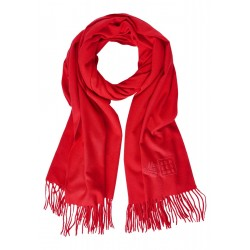 Cosy scarf in plain colour by Street One