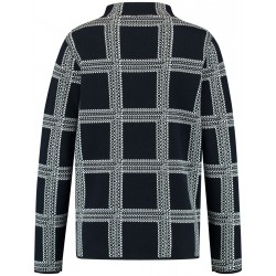 Plaid sweater by Gerry Weber Casual