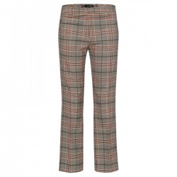 checked trousers, 7/8 length by More & More