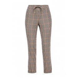 Regular Fit: checkered jog pants by s.Oliver Red Label