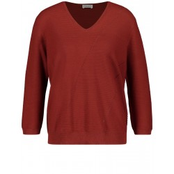 Pullover with V-neck by Gerry Weber Collection