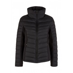 Quilted jacket with softshell insert by s.Oliver Red Label