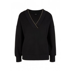 sweatshirt avec col en V by s.Oliver Black Label