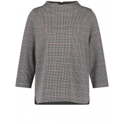 3/4 sleeve shirt with lift-up collar by Gerry Weber Collection