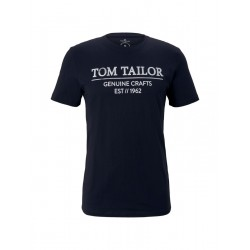 T-shirt mit Logoprint by Tom Tailor