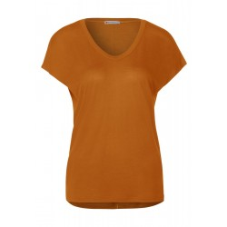 T-Shirt aus Lyocell by Street One