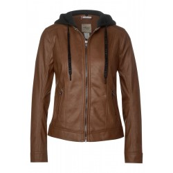 Veste en cuir by Street One