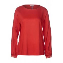 Blouse in uni color by Street One