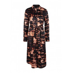 Batik silk blend blouse dress by s.Oliver Black Label