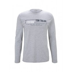 1021695 longsleeve with chest print by Tom Tailor Denim