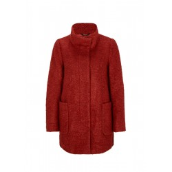 Bouclé jacket with stand-up collar by Comma
