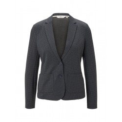 Blazer Slim Fit avec motif by Tom Tailor
