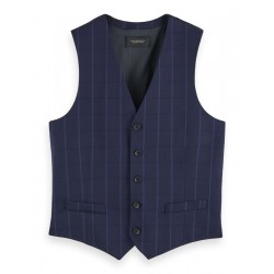 Vest with classic structure by Scotch & Soda