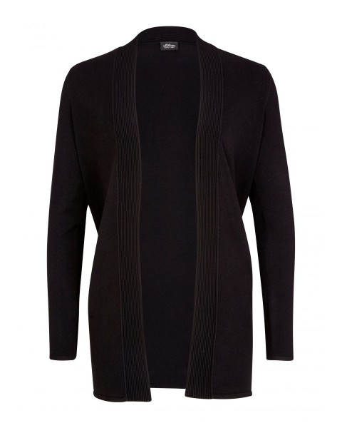 Long cardigan ouvert by s.Oliver Black Label