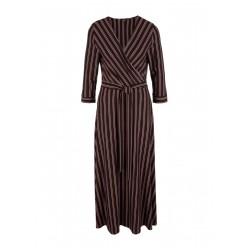 Midi dress with tie belt by s.Oliver Black Label