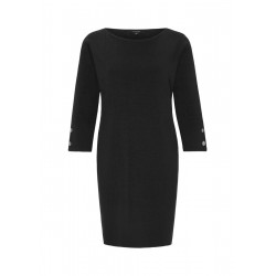 Long sweater with rib structure by Comma