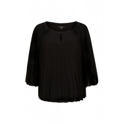 Chiffon blouse with pleats by Comma