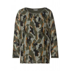 Chemise en mousseline avec camouflage by Street One
