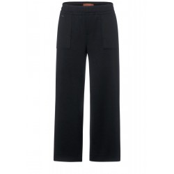 Pantalon à jambes larges style cargo by Street One