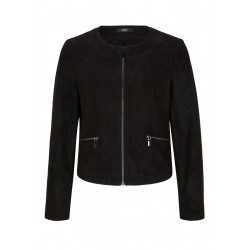 Blazerjacke aus Velourslederimitat by s.Oliver Black Label
