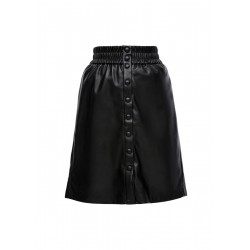 Highwaist skirt in leather-look by Q/S designed by