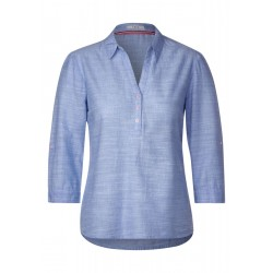Chambray Bluse by Cecil