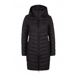 Padded quilted coat with hood by s.Oliver Red Label